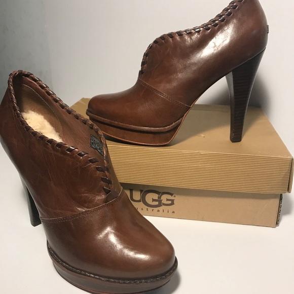 dacd3c39540 UGG Jamison High Heel Leather Booties